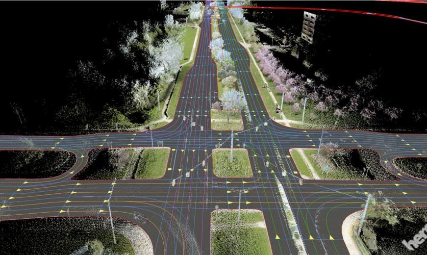 HERE introduces HD maps for highly automated vehicle testing – True colors