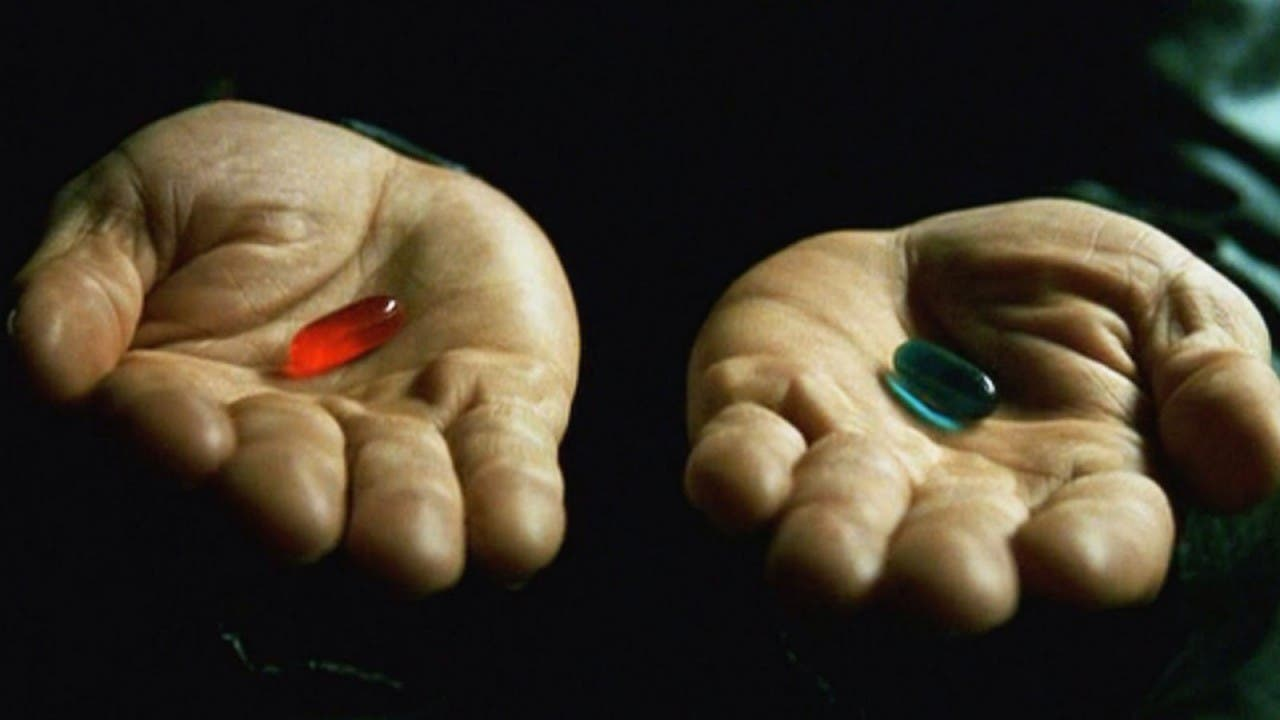 Matrix Red Pill Blue Pill