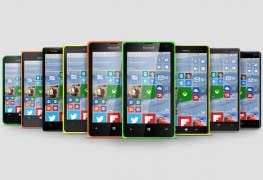 Windows Phones mit Windows 10 for Mobile