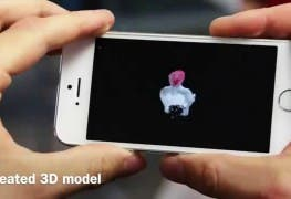 Microsoft MobileFusion Smartphone 3D-Scanner