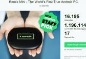 Remix Mini – $20 Android PC bei Kickstarter *Update: Kickstarter-Rekord*