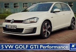 2015 VW Golf GTI Performance