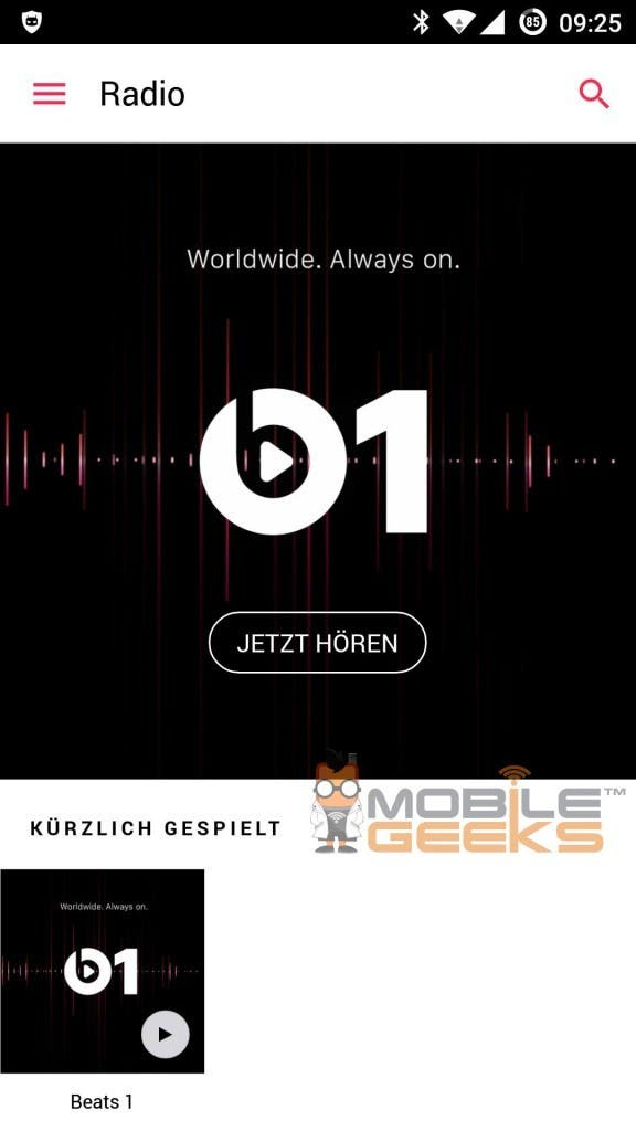 Apple Music Android Beats 1