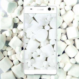 Sony Xperia Smartphone vor Marshmallows