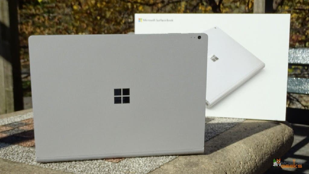Microsoft Surface Book Rückseite