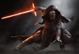 Star Wars Episode 7 Kylo Ren Fullscreen