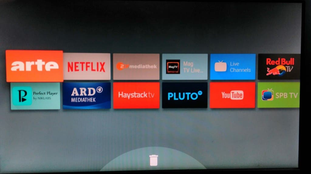 Android TV Homescreen 3