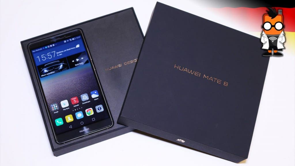 Huawei Mate 8 Unboxing