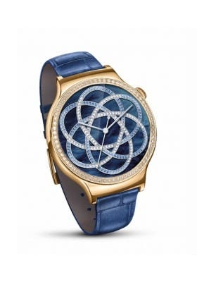 Huawei Watch Jewel Elegant Swarowski Damen blau