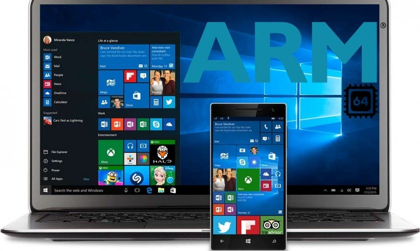 Windows 10 ARM64 Support