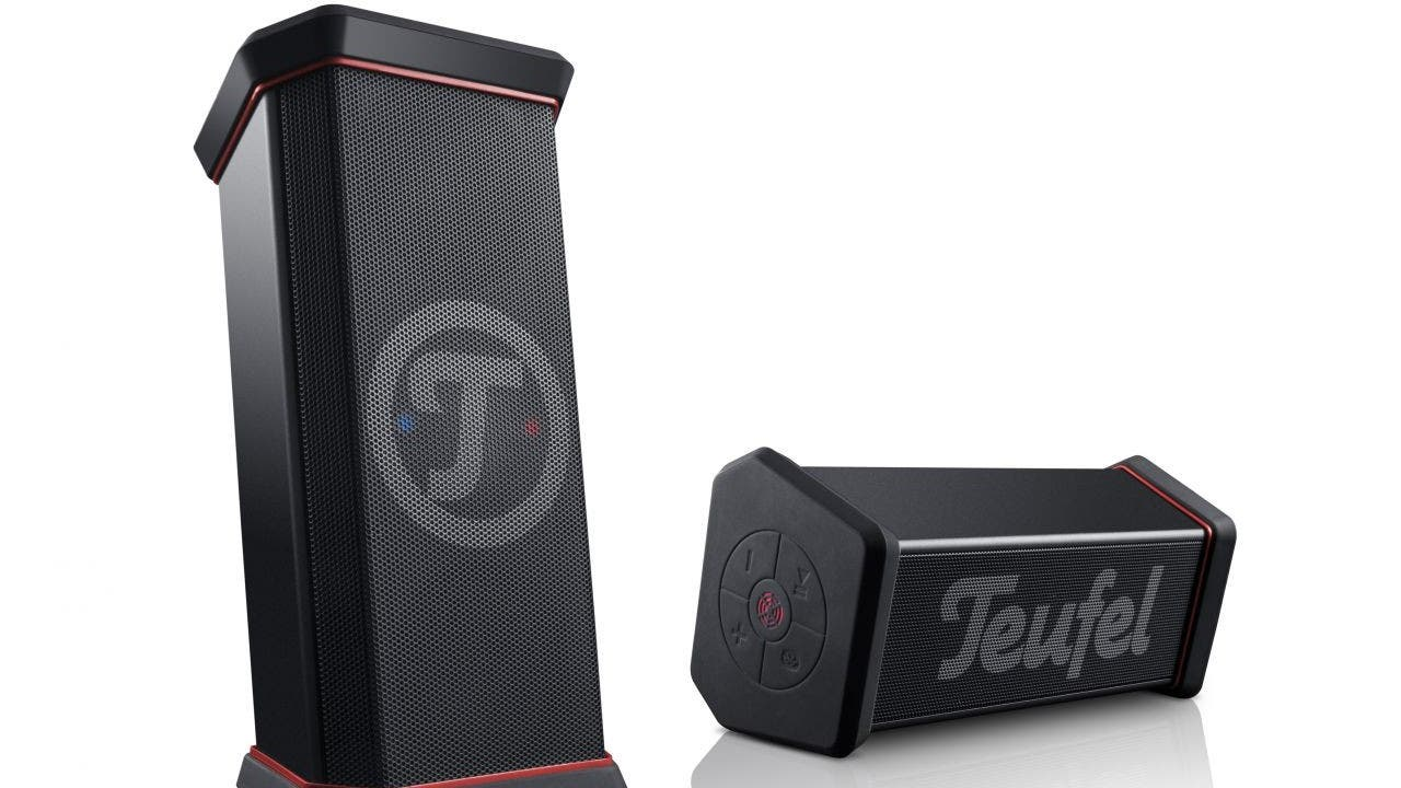 teufel rockster xs bluetooth lautsprecher im test. Black Bedroom Furniture Sets. Home Design Ideas