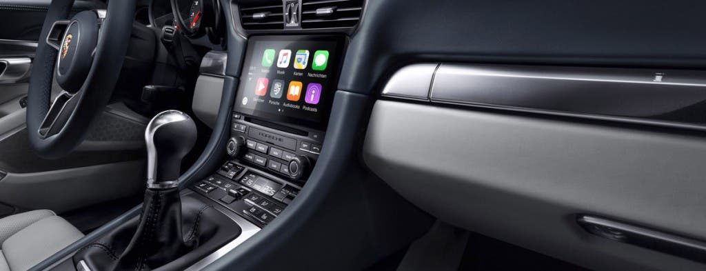Apple CarPlay im Porsche 911
