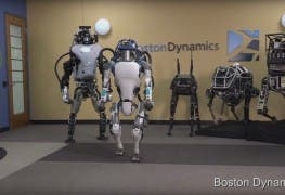 Atlas Boston Dynamics Roboter