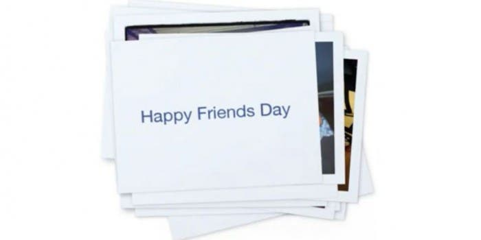 Happy Friends Day Collage