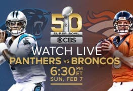 Super Bowl 2016 im Live Stream – Stream Rekord in den USA