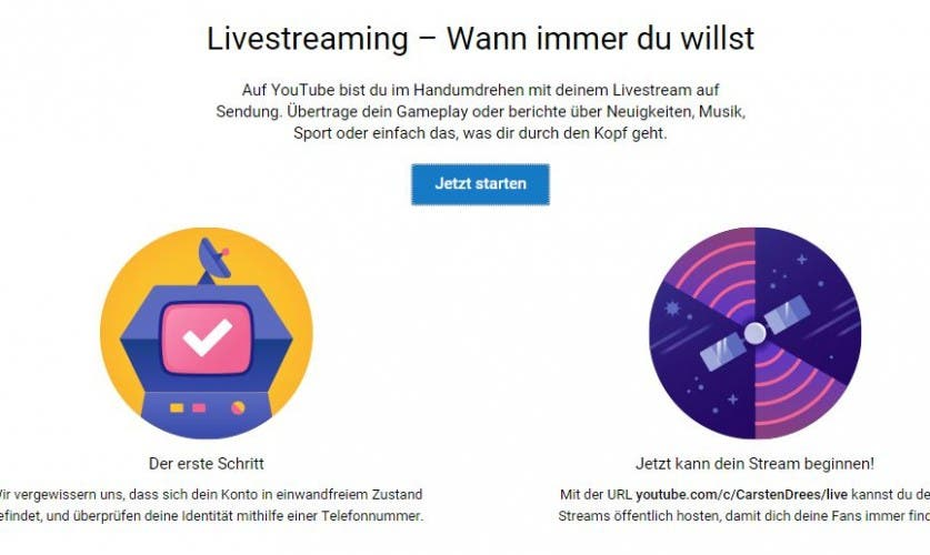 YouTube Livestreaming