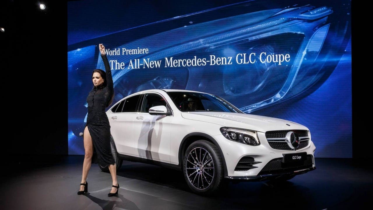 Mercedes benz glc coup und weitere nyias 2016 highlights for Mercedes benz of denver