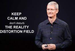 Reality Distortion Field Apple Tim Cook