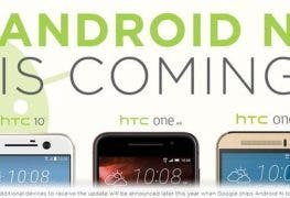HTC Android N is coming