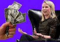 Yahoo Marissa Mayer Cash