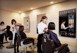 friseursalon samsung oled display