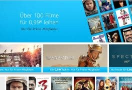 Amazon Prime Video: Über 100 Filme für 99 Cent