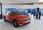 VW Car-Net Demo auf den Tiguan Tech Days 2016