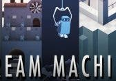 Dream Machine: Monument Valley Pendant mit kleinem Roboter