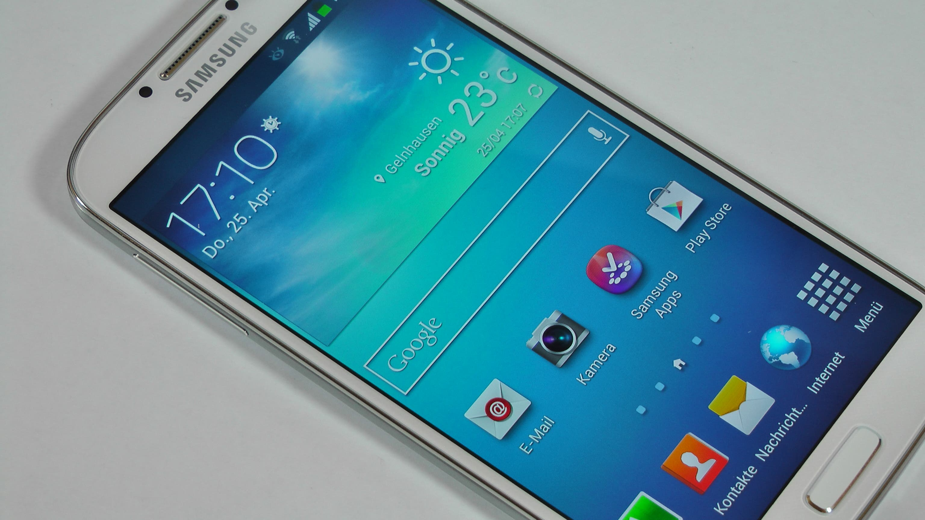 Samsung Galaxy S4 Unboxing und Hands On 1