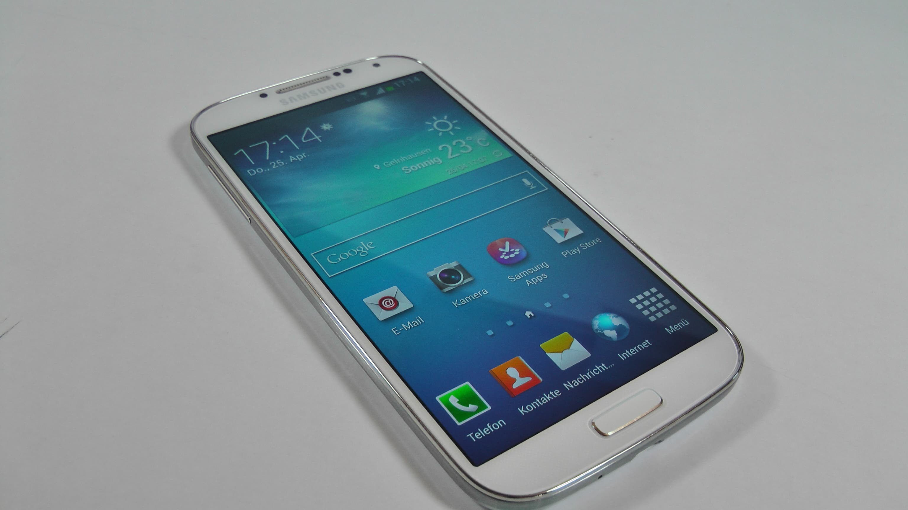 Samsung Galaxy S4 Unboxing und Hands On 21