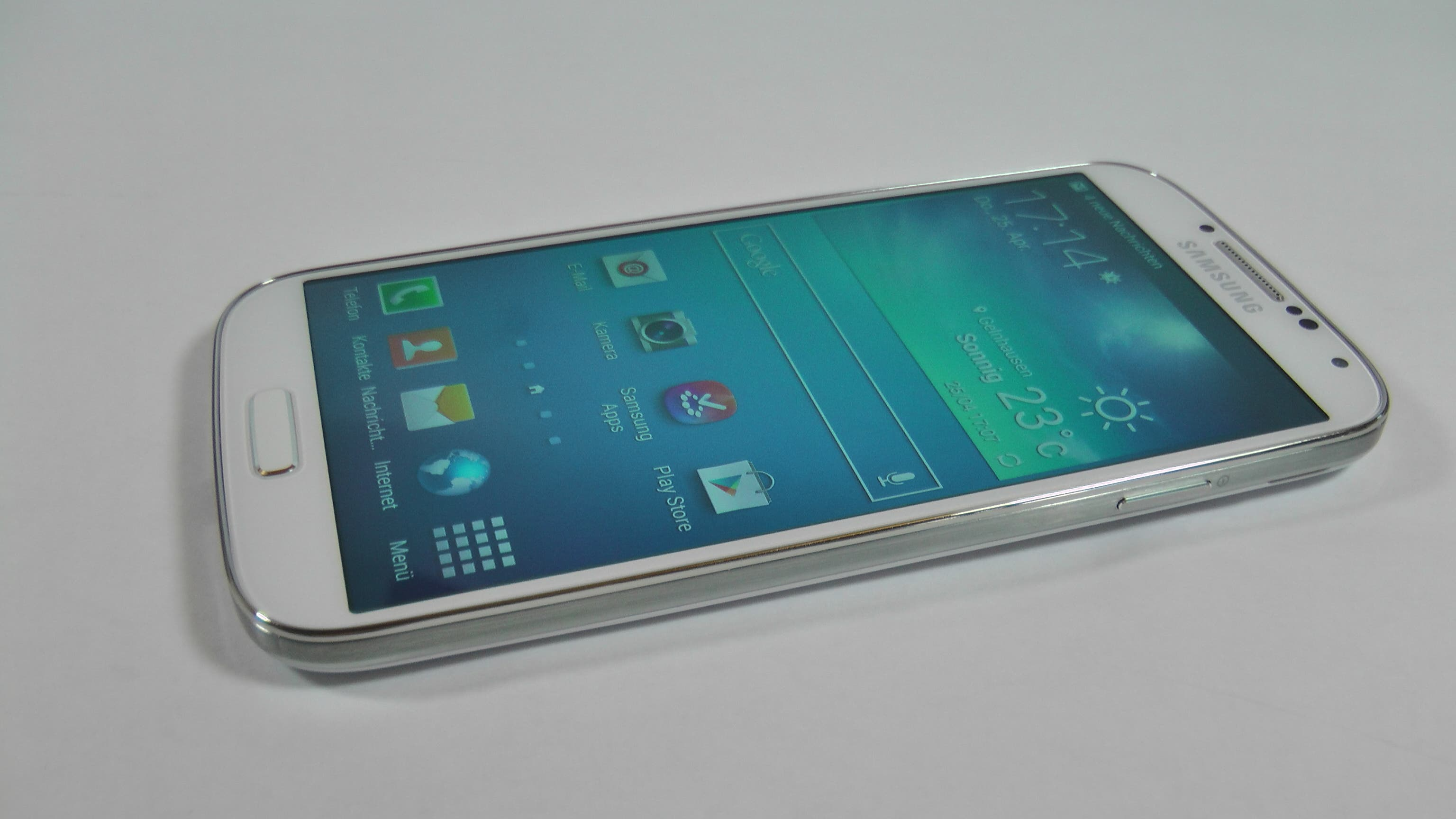 Samsung Galaxy S4 Unboxing und Hands On 22
