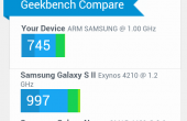 Samsung Galaxy Xcover 2 Test Benchmarks 12