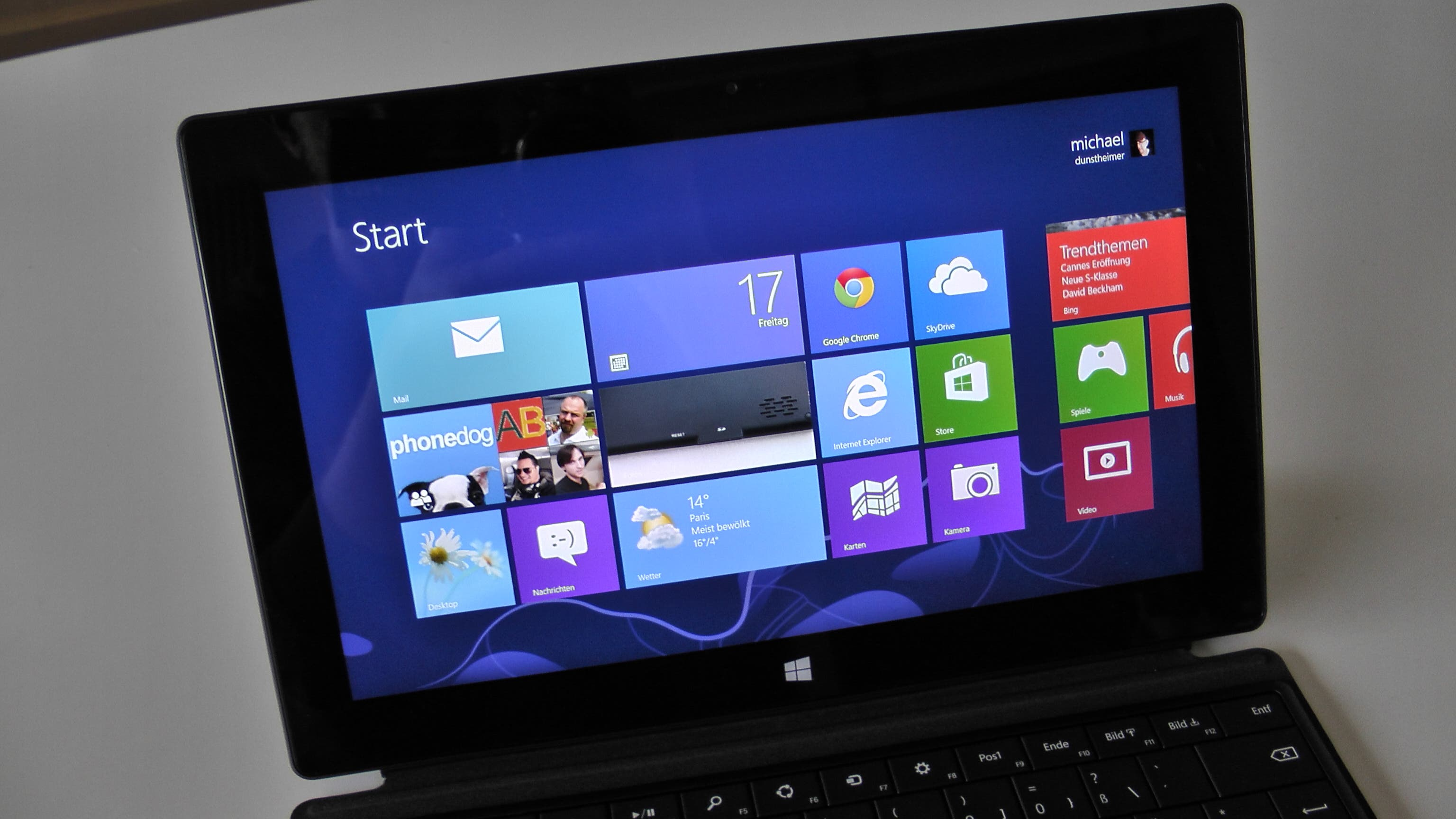 Microsoft Surface Pro Unboxing und Hands On 9