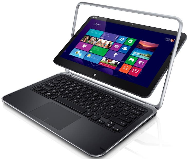 XPS Duo 12 convertible Ultrabook with Windows 8