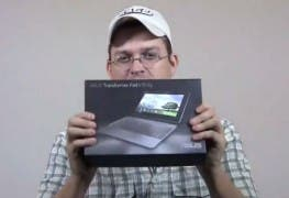 ASUS Transformer Pad Infinity Unboxing