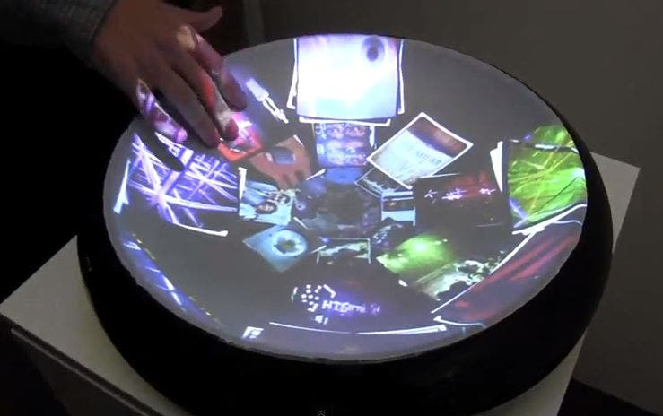 Multitouch Kinect