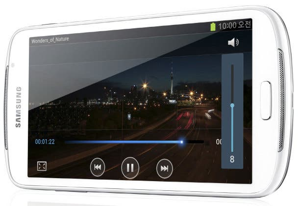 Samsung Galaxy Player 5.8 im deutschen Hands On