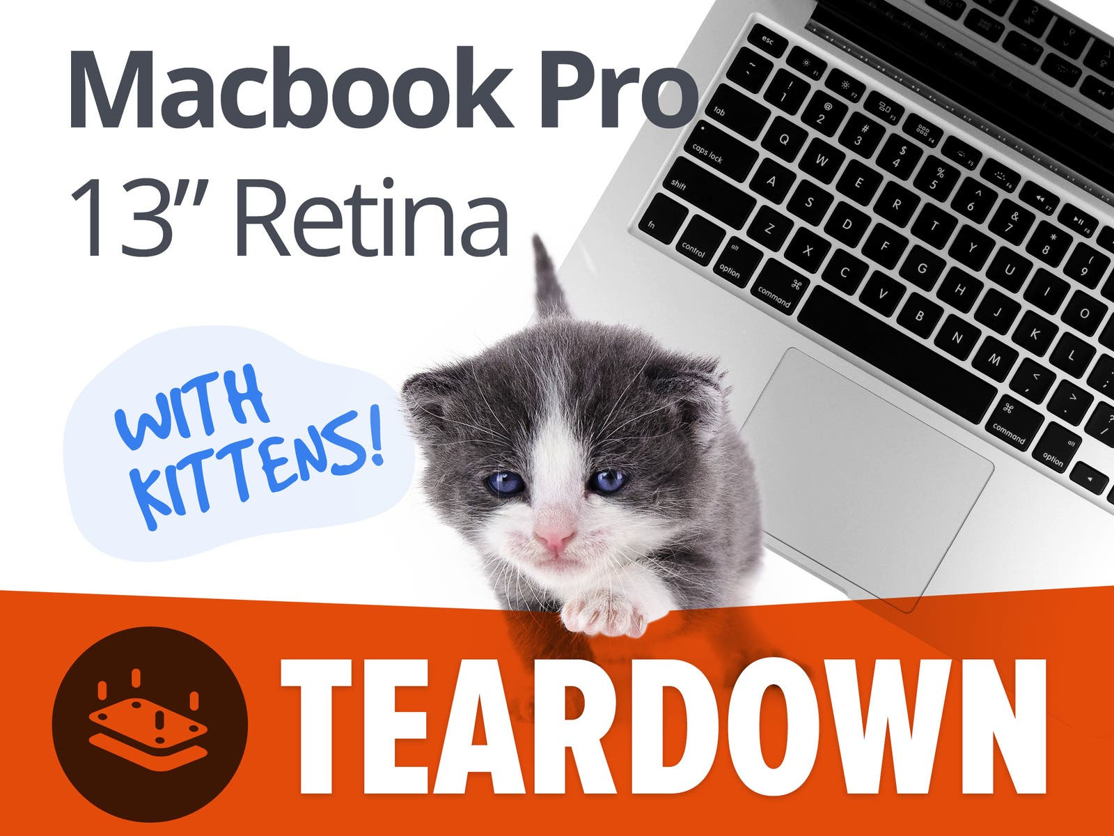 MacBook Pro 13 Retina Teardown iFixit