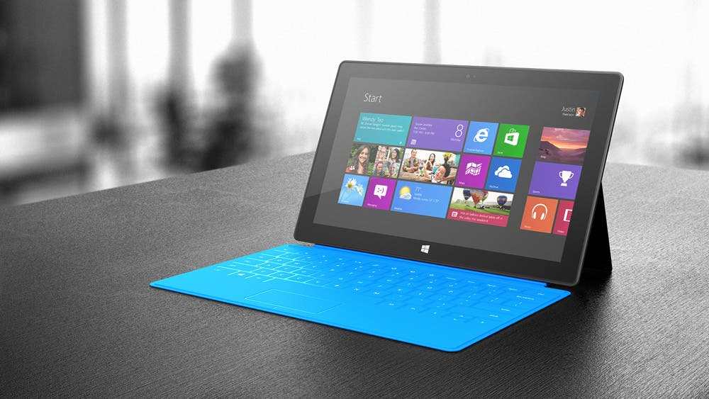 Microsoft Surface mit Touch Cover