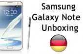 Samsung Galaxy Note 2 Unboxing