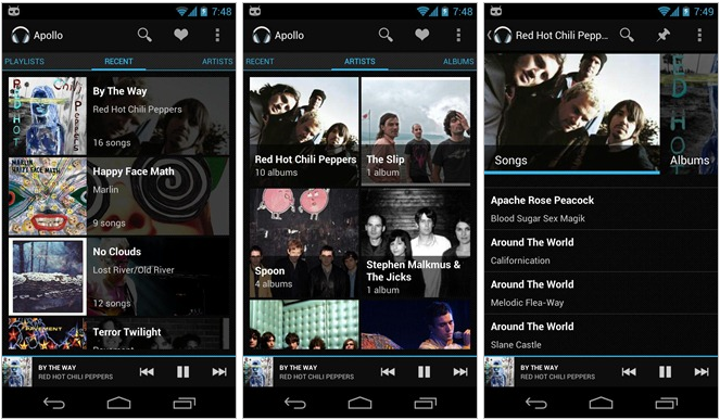 Cyanogenmod-Apollo-music-player