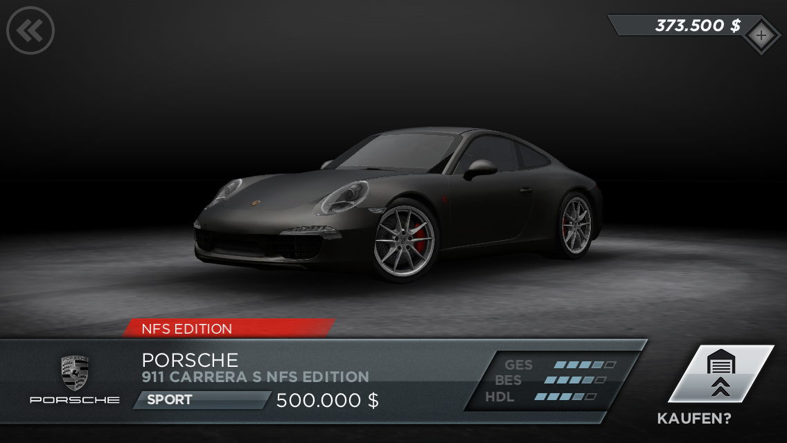 NFS Most Wanted - Porsche 911 NFS Edition