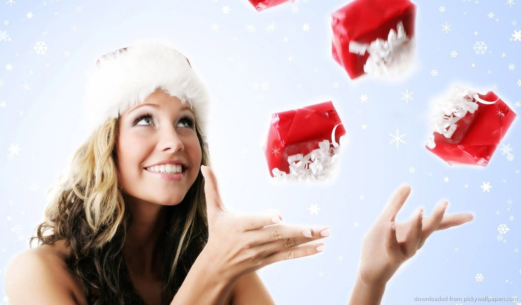 beautiful-christmas-girl-catching-presents