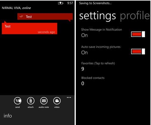 windows phone 8 whatsapp b