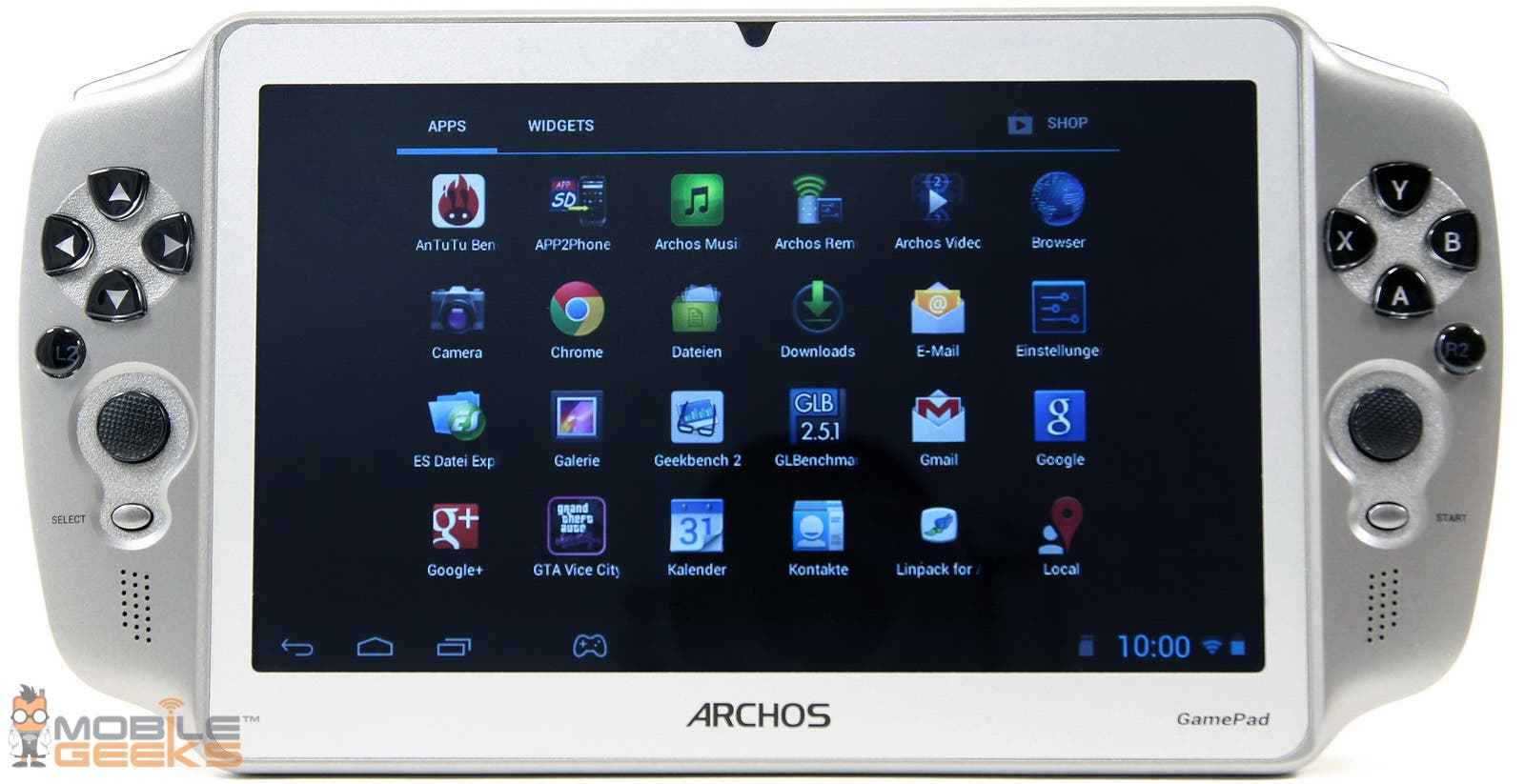 Archos GamePad Tablet Test