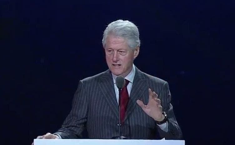 Bill Clinton Samsung Keynote