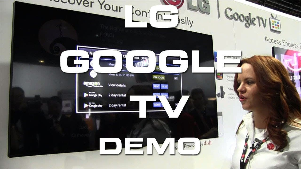 LG Google TV Demo