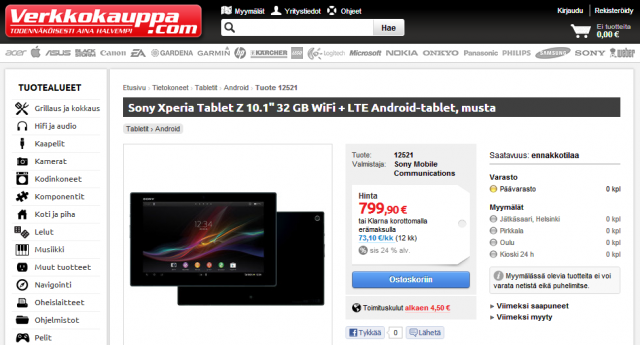 Xperia-Tablet-Z-Finland
