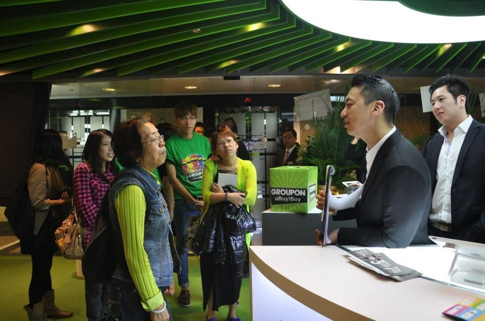 Groupon Store in Hong Kong im Walk-Through Video