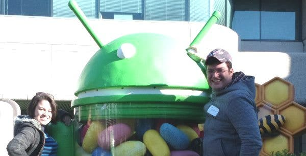 Android Jelly Bean Teaser